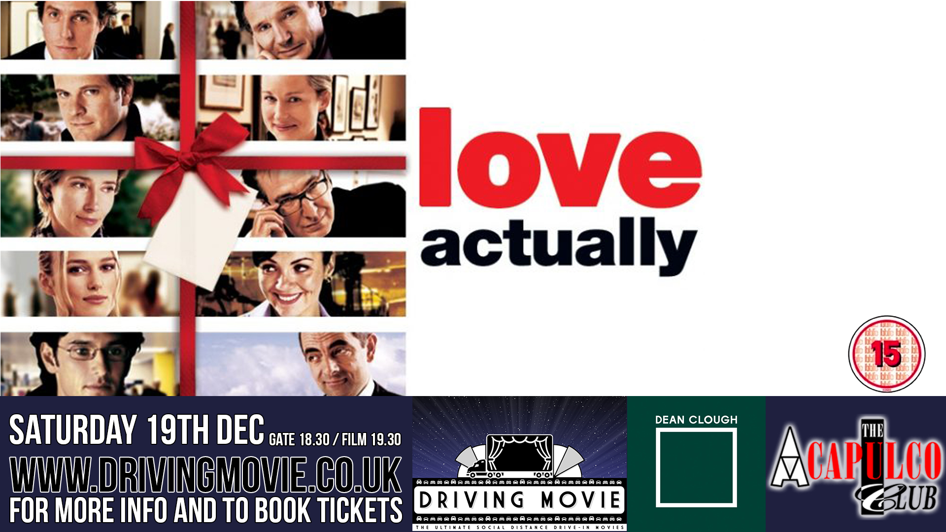 Acapulco Nightclub Halifax presents a Drive In Movie
